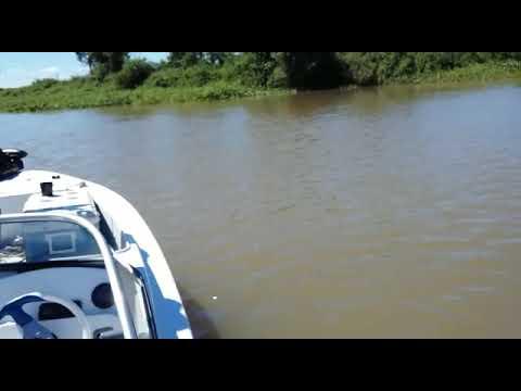 Pescaria em Esquina, na Argentina - 13/10/2017