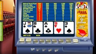 Бесплатная игра Joker poker(Играть бесплатно онлайн: http://avtomaty-igrovye-besplatno.com/games/azart-game/poker/joker-poker.html., 2013-07-07T07:10:46.000Z)