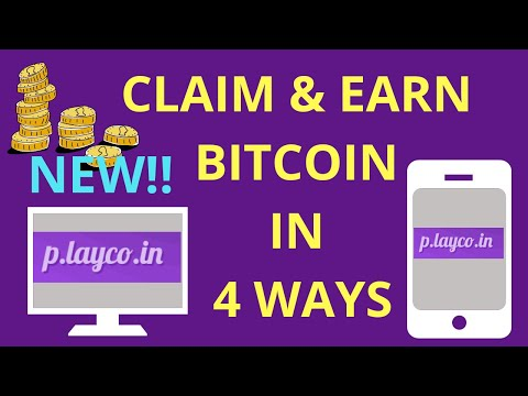 Earn And Claim Free Bitcoin In 4 Ways 2019 (playcoin)