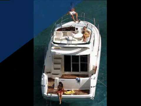 Charter motor yacht Prestige 46 in Greece.wmv