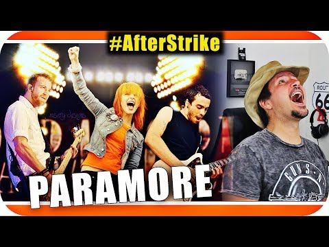 PARAMORE - Last Hope Hard Times Still Into You Marcio Guerra Reagindo #AfterStrike