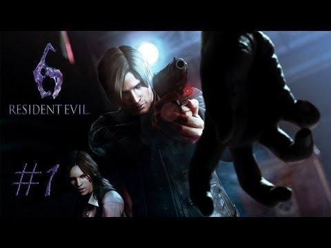 Смотреть прохождение игры [Coop] Resident Evil 6. Серия 1 - Я убил его...
