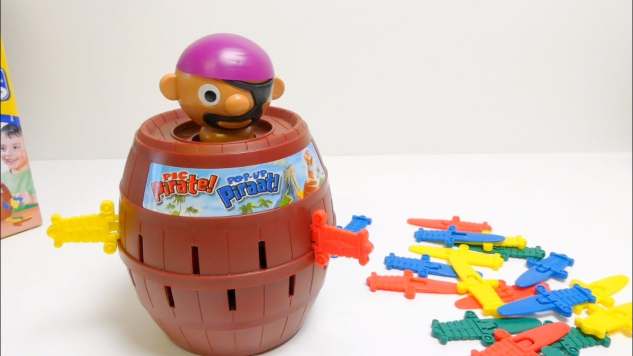 Tomy Super Pirate   Pop Up Pirate Game   YouTube