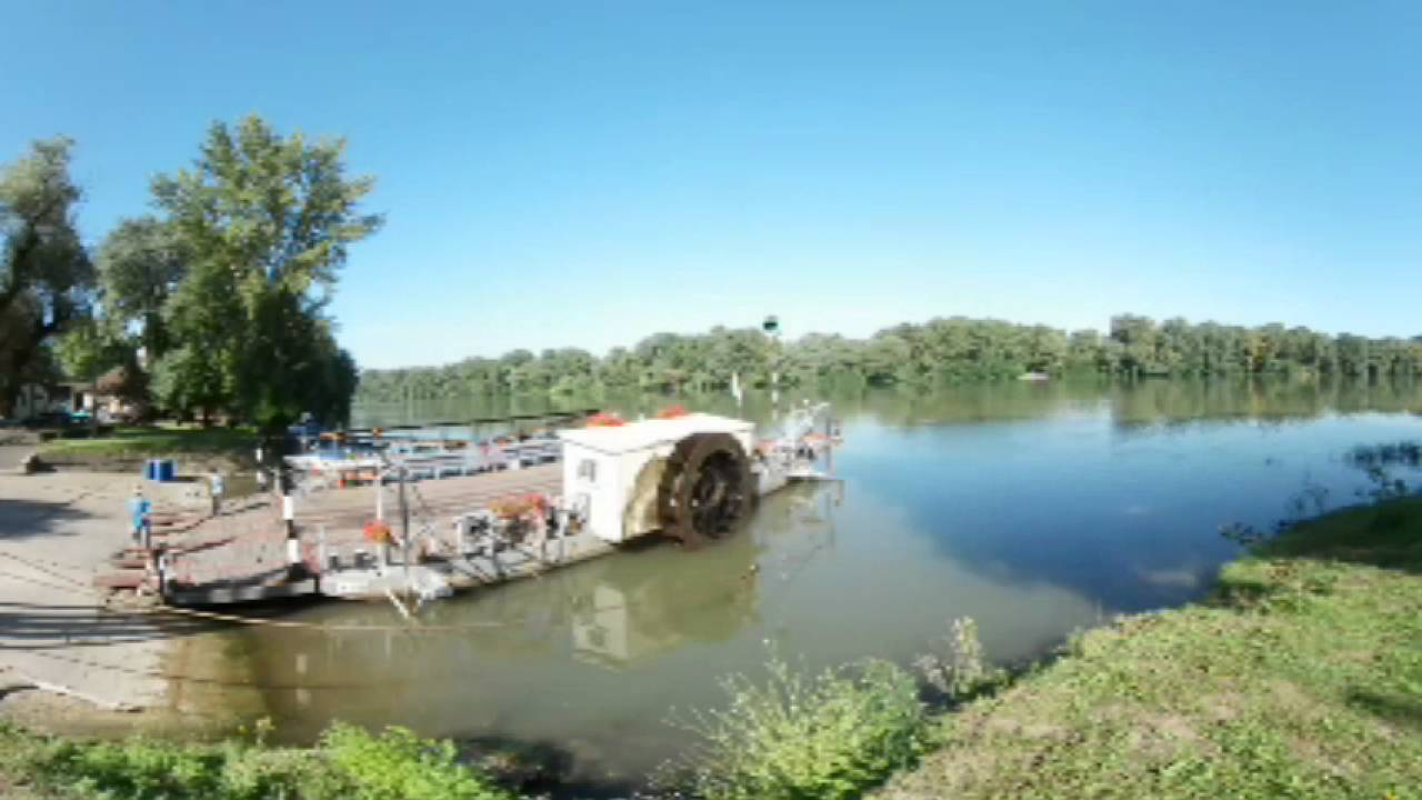 360 Time Lapse Ferry Komp Tiszacsege Tisza Samsung Gear 360 Vr