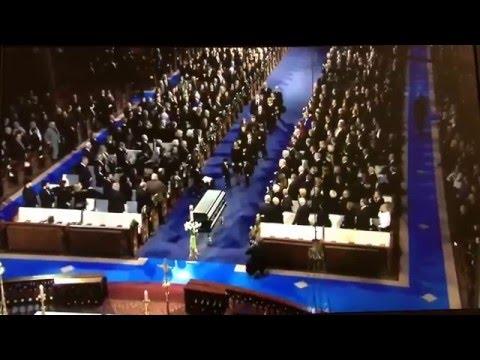 Funérailles Nationales de René Angélil (1942-2016)- Trois heures vingt