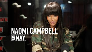 Naomi Campbell Weighs in on Plus Size Models + Dispels Dating Rumors About Idris Elba
