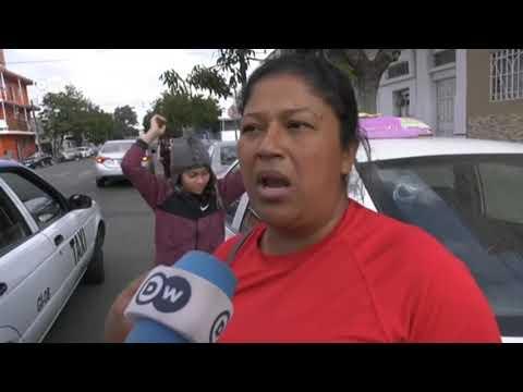 Migrante hondureña pide perdón por rechazar los frijoles