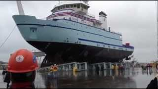 Wondered How To Put a Ship Into Water?