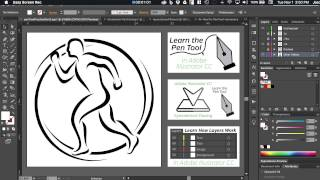 Adobe Illustrator CC - Pen Tool Tutorial - Part 2