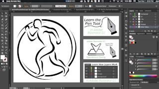 Adobe Illustrator CC - Pen Tool Tutorial - Part 2
