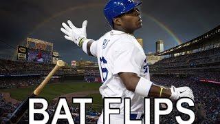 MLB Craziest Bat Flips Of All Time