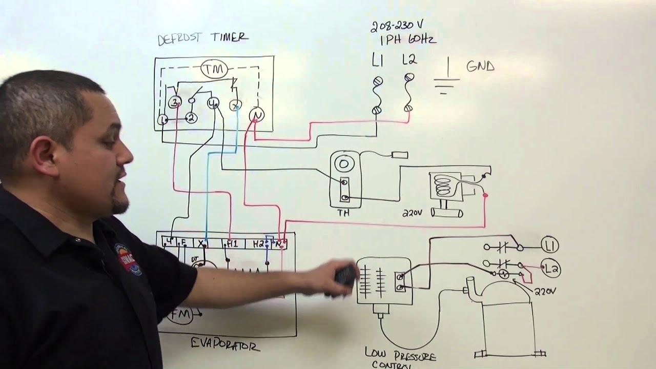 refrigeracion  temporizador de descongelacion  defrost