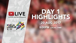 Day 1 Highlights | 29th SEA Games 2017