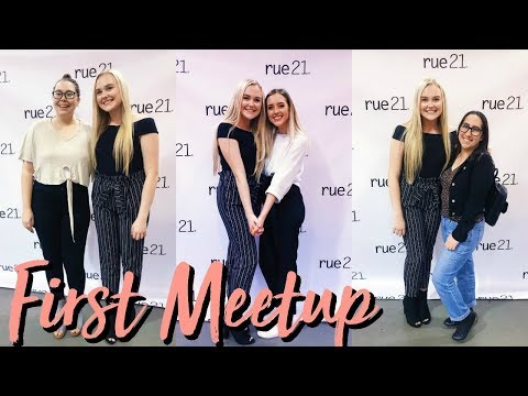 MY FIRST MEETUP | Vlogmas Day 1