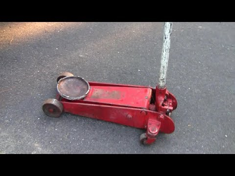 Hydraulic Floor Jack Repair Part 2 Youtube