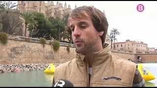SUP Cathedral Palma de Mallorca - Stand Up Paddle Surf in Majorca winter