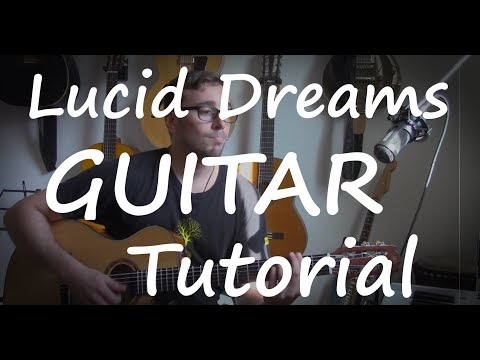 Juice WRLD - Lucid Dreams Guitar tutorial (EASY with CHORDS and Fingerstyle)