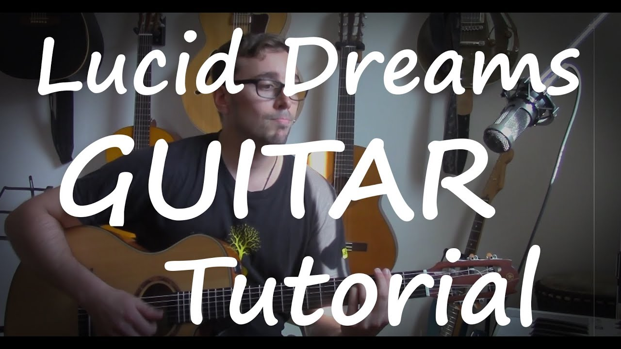 Juice Wrld Lucid Dreams Guitar Tutorial Easy With Chords And