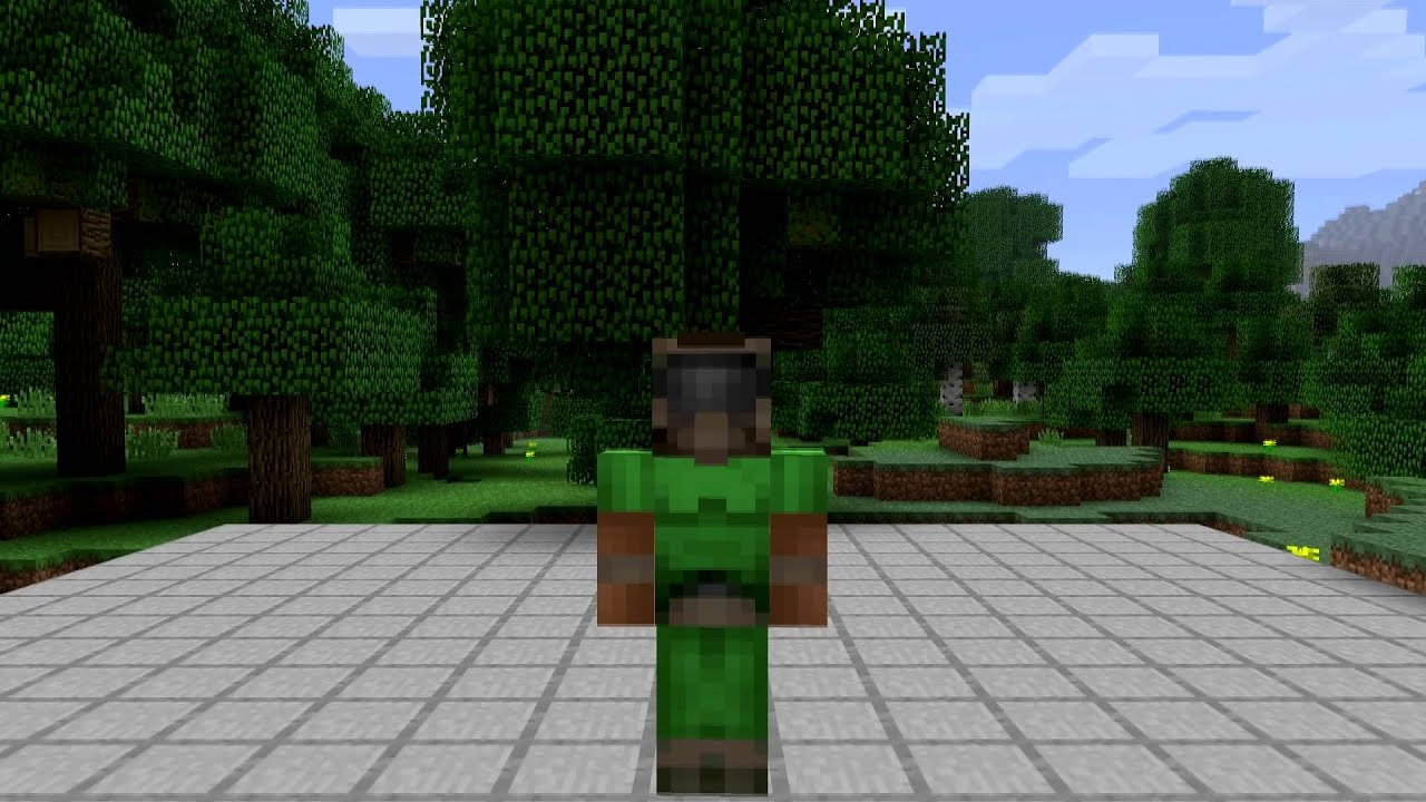 Doomguy Minecraft Skin Spotlight