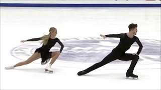 А. Степанова - И. Букин. Произвольный танец. Танцы. NHK Trophy. Гран-при по фигурному катанию