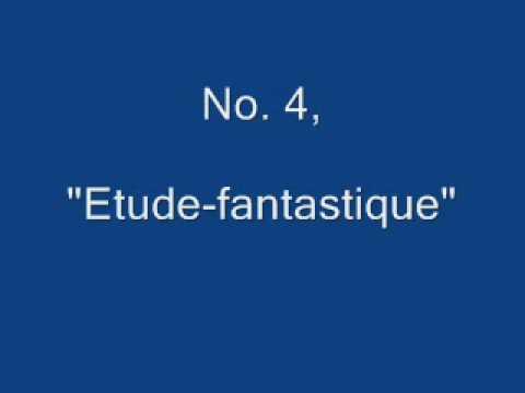Catoire, Quatre Morceaux, Op. 12, No. 3 Nocturne & No. 4 Etude-fantastique
