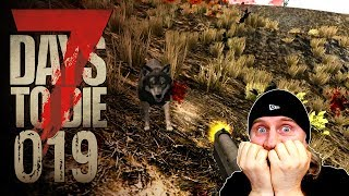 🔨 7 Days to Die [019] [Der böse Wolf] Let's Play Gameplay Deutsch German thumbnail