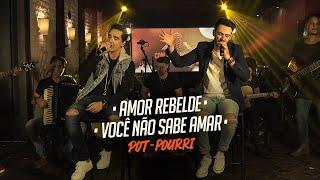 Sinésio e Henrique - AMOR REBELDE - VOCÊ NÃO SABE AMAR - Pot-Pourri (DVD Com Você No Topo)