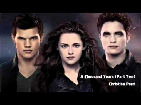 A Thousand Years Pt 2   Christina Perri feat  Steve Kazee   Breaking Dawn Part 2   YouTube