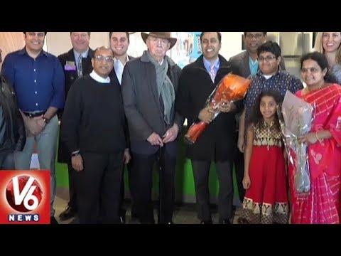 Schaumburg Mayor Al Larson Launches Telugu Restaurant Radhika's Kitchen | V6 USA NRI News
