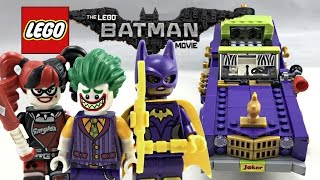 LEGO Batman Movie Joker Notorious Lowrider review! 2017 set 70906!