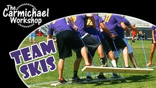 Make Team Building Skis For Field Days, Parties, Scouting & Company Events