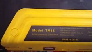 TM15 Jump Starter Review