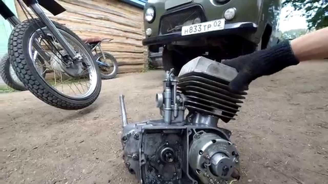 Восстановление мотоцикла Минск (3 часть) - YouTube