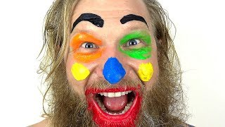 Fun Face Paint Lesson for kids - Popular Songs and Nursery Rhymes for Children