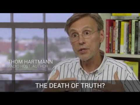 Part 1 Interview with Thom Hartmann: corporate control of media