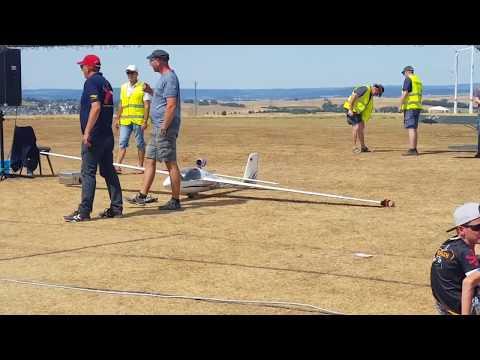 Cirrus K turbine glider aerobatic at Flugtag Kirberg