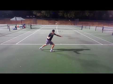 Practice Match v. Alex  NTRP 4.5 Men's Tennis Singles