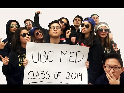 UBC Medicine 2016 Admissions Video (What Do You Mean/Started from the Bottom/Sorry Parody)
