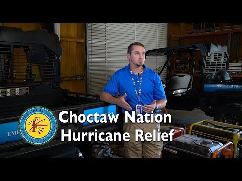 Choctaw Nation Hurricane Relief