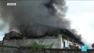 RDC : incendie d