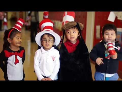 Dallas ISD students celebrate Dr. Seuss' Birthday
