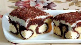 Пирог Утренняя роса. Он не только очень красивый, но и восхитительно вкусный!