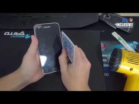 Замена дисплея на смартфоне Samsung S5. Полная рестоврация телефона.