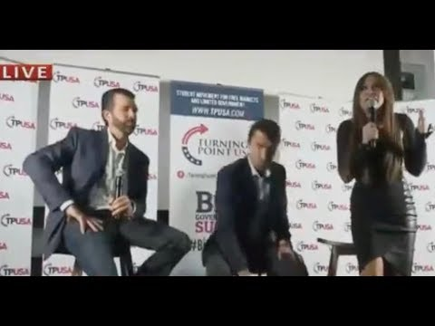 Trump Jr. Protested By Far Right, Walks Out Of His Book Event