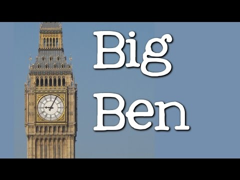 Big Ben for Kids:  Famous World Landmarks for Children - FreeSchool