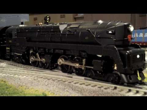 Lionel Legacy Pennsylvania T1 4-4-4-4 Duplex Review & Running Session