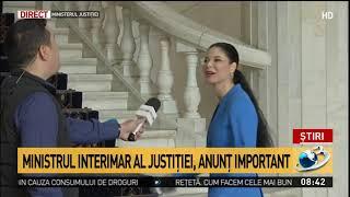 Ana Birchall, ministrul interimar al Justiției: Procedura de selecție, reluată