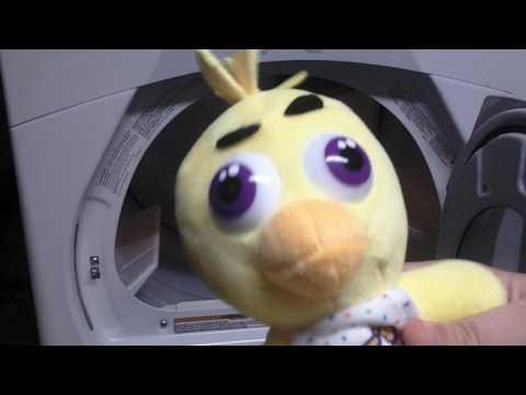 Fnaf plush in dryer