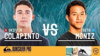 Griffin Colapinto vs. Seth Moniz - Round Three, Heat 6 - Quiksilver Pro Gold Coast 2019