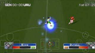 SENEGAL vs URUGUAY - Super Shot Soccer - ePSXe Android Gameplay
